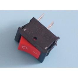 Switch , Interrupteur à bascule Marche / Arrêt (2 pin) Rouge