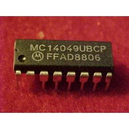 MC14049 UBCP 6x Porte inverseur Equivalent CMOS 4049