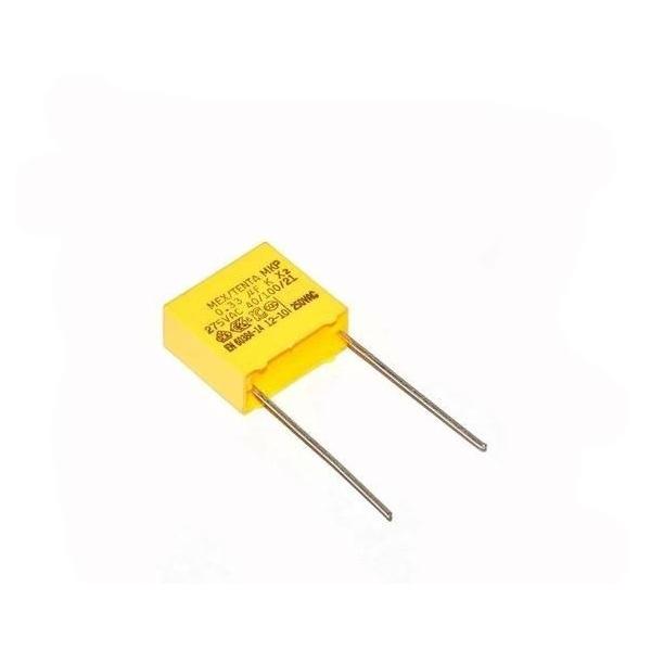 Condensateur MKP X2 0.33uF 0.33µF 330nF 275V 15mm