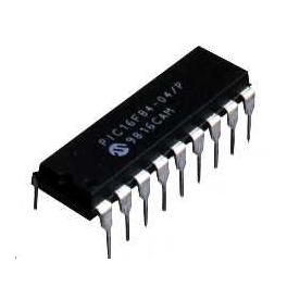 PIC16F84-04/P PIC16F84 MICROCHIP DIP-18 EEPROM Microcontroleur 8 bits