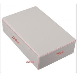 Boitier plastique 125x80x32mm couleur beige