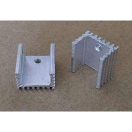Refroidisseur TO220 / TO-220 Radiateur Aluminium 16x15x10mm