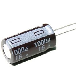 1000uf 16v 1000µf Radial d:10mm h:17mm