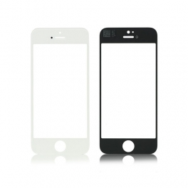 Vitre pour iphone 5 5S SE Noire