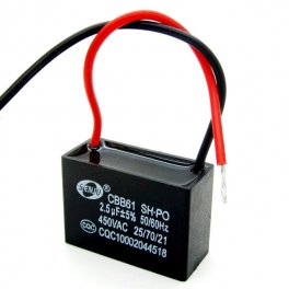 2,5uf 450v 2.5µF CBB61 Condensateur de démarrage