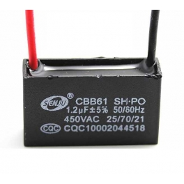 1.2uf 450v 1,2 µF CBB61 Condensateur de démarrage