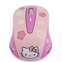 Souris optique Hello Kitty (officiel) sans fil