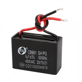 6uf 450v 6 µF CBB61 Condensateur de démarrage