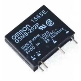 Relais OMRON G3MB-202P DC-AC PCB SSR 5VDC,240 VAC 2A
