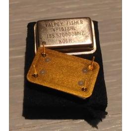 Quartz  155.520 MHZ rectangulaire 155,520mhz