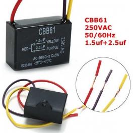 1.5uf+2.5uf 250v 1,5 µF+2,5 µF CBB61 Condensateur de démarrage