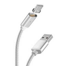 Cable de charge ou de data Embout magnetique 1 métre Android micro USB