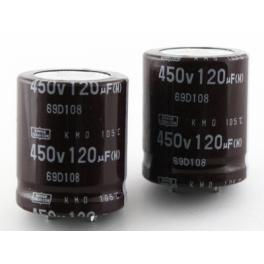 120uf 450v 120 µF Radial d:25mm h:30mm 105°C
