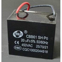 20uf 450v 20 µF CBB61 Condensateur de démarrage