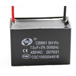 7uf 450v 7 µF CBB61 Condensateur de démarrage
