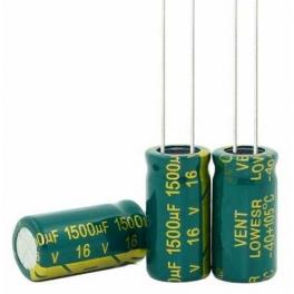 1500uf 16v 1500 µf Radial d:10mm h:20mm Low ESR