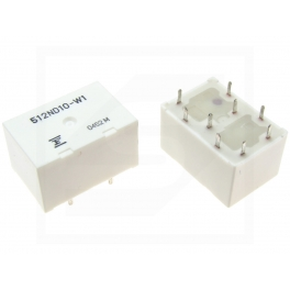 Relais FBR512ND10-W1 2X30A 10VDC  9 Broches 512ND10-W1
