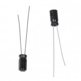 3.3uf 50v 3,3µF Radial d:4mm h:7mm