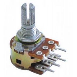 potentiométre double lineaire 200 kohm dual taper