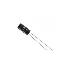 10uf 25v 10 µf Radial d:4mm h:7mm
