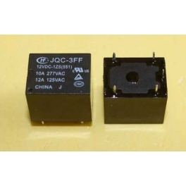 Relais 12v JQC-3FF-12VDC-1ZS (551) , 5 broches