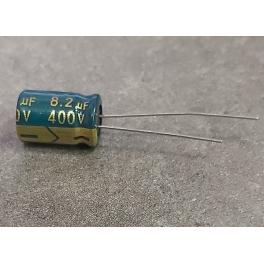 8,2uf 400v 8.2uf Radial d:8mm h:13mm CHONGX