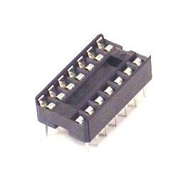Support DIP 14 Broches pour Circuit Int/égr/é 20 Pi/èces