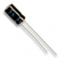 10uF 35v 10 µf radial d:5mm h:11mm