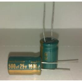 1500uf 25v 1500µf Radial d:13mm h:20mm NICHICON