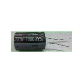 1800uf 25v 1800µf Radial d:16mm h:25mm
