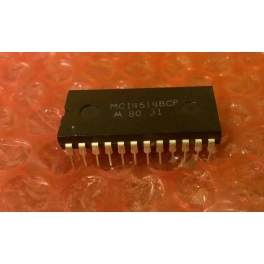 MC14514BCP Décodeur Latch/4-to-16