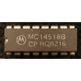 MC14518BCP Compteur BCD Dual up Counter