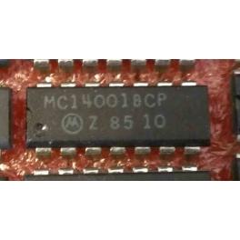 MC14001BCP-CD4001 quadruple porte NOR