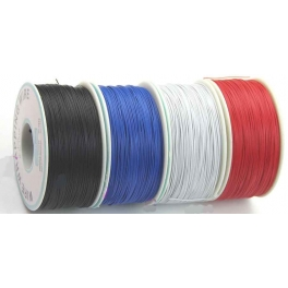 Fil,Cable a wrapper 30AWG Blanc D:0.25mm