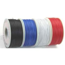 Fil,Cable a wrapper 30AWG Bleu D:0.25mm