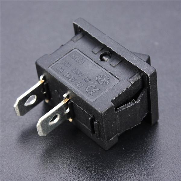 Switch interrupteur bascule marche arr t 2 pin for Bascule transistor
