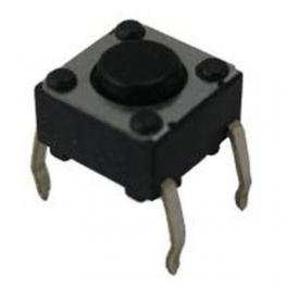switch, interrupteur tactile miniature 6x6x5mm