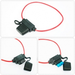 Support fusible lame 19mm waterproof avec cable