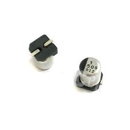 1uf 50v 1µf SMD Radial d:4mm h:5mm